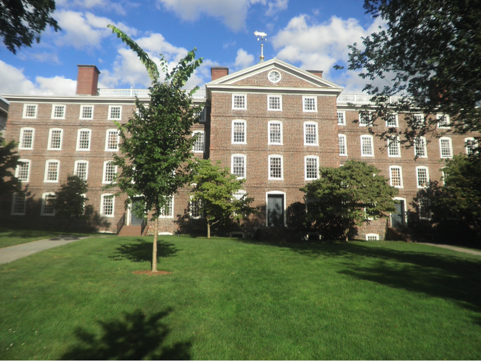 Fig. 2. Providence hospital during the Revolutionary War: University Hall of the College of Rhode Island, now Brown University.