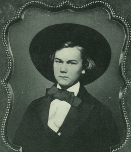 John Hay as a student at Brown University