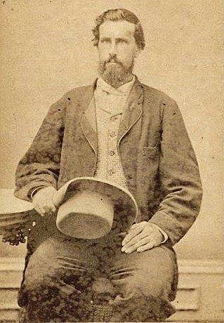 """Abel Head """"Shanghai"""" Pierce in his Texas cattleman garb"""