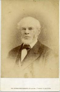 Captain John Scott Deblois, c. 1870 photo (Newport Historical Society Collections)