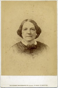 Henrietta Tew Deblois, c. 1870 photo (Newport Historical Society Collections)