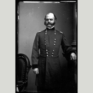 Ambrose Burnside, photographed by Matthew Brady, 1862 (National Portrait Gallery)