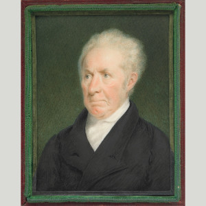 Gilbert Stuart by Sarah Goodridge of Boston around 1825 (Smithsonian American Art Museum)