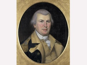 Nathanael Greene in his Continental army uniform, by Charles Wilson Peale, c. 1794 (National Historic Independence Hall Collection)