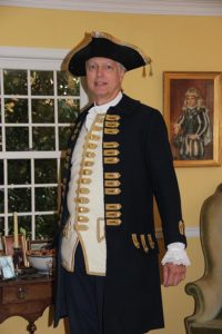 John Millar in a Royal Navy officer's uniform (John Millar)