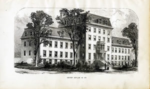 The Dexter Asylum in 1871 (Providence City Archives)