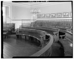 Interior of the Old Colony House in Newport, where the May 4, 1776 Royal Renunciation did not occur, despite previous commemorations to the contrary (circa 1935, Library of Congress)