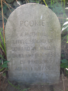 Pookie's monument in Portsmouth (Frank L. Grzyb)
