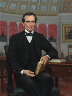 Abraham Lincoln as he would have appeared as a member of the House of Representatives from 1847-49, by Ned Bittenger, 2004 (House of Representatives)