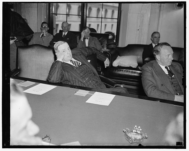 U.S. Senator Peter G. Gerry, May 1940 (Library of Congress)]