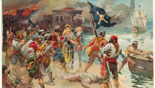 Twenty-Six Pirates Hanged at Newport in 1723