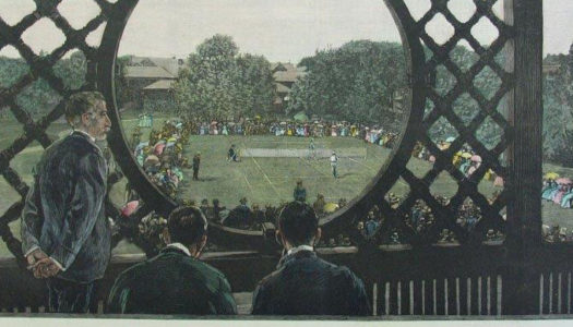 Newport's Casino, Birthplace of the U.S. National Tennis Championship, 1881 to 1914