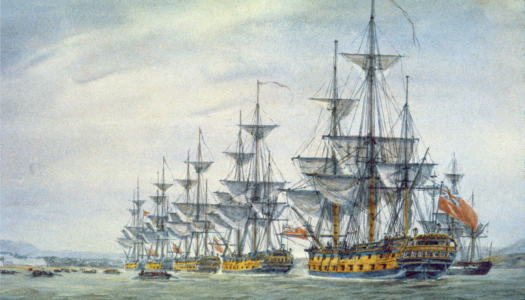 British and Hessian Forces Occupy Newport and Aquidneck Island in 1776