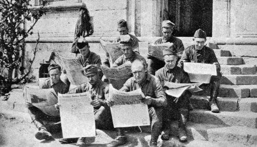 The 103rd Field Artillery on the Western Front in World War I