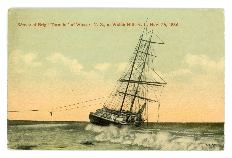 Mariners Beware – Shipwrecks in Rhode Island – Watch Hill